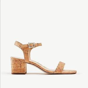 Ann Taylor Kennedy Cork Sandal